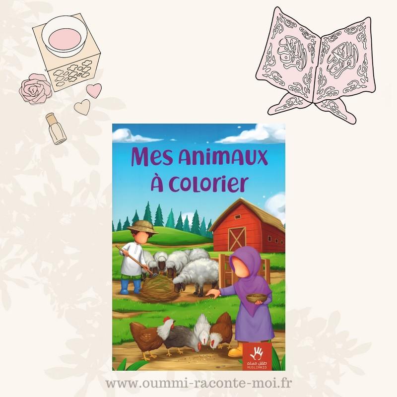 Mes animaux à colorier – Édition Muslimkid