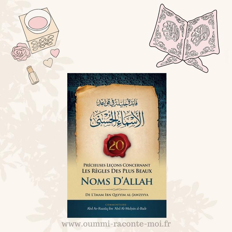 20 Précieuses Leçons Concernant Les Règles Des Plus Beaux Noms D'Allah (فائدة جليلة في قواعد الأسماء الحسنى ), Bilingue (Fr/Ar) – Édition Ibn Badis