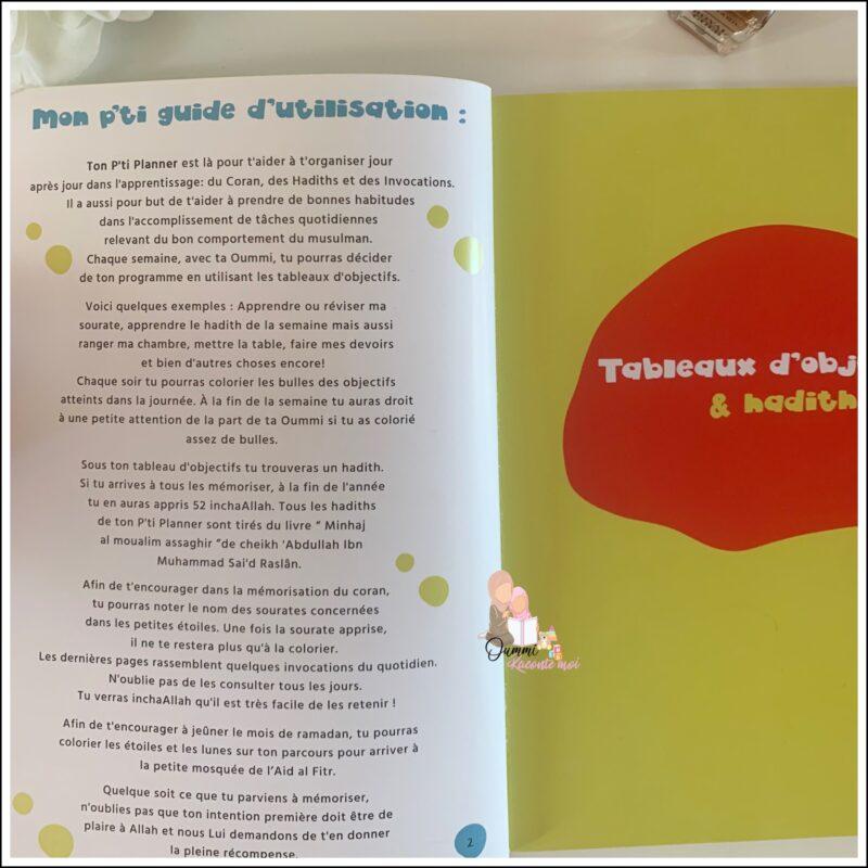 Mon P'ti Planner – Oummi's Planner
