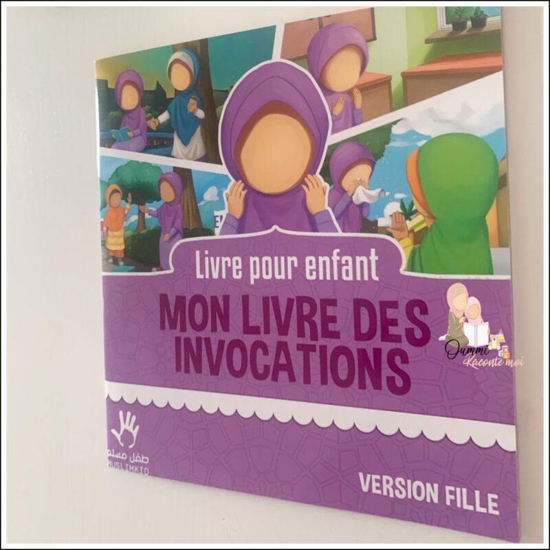 Mon livre des invocations (Version Fille) – Édition Muslimkid