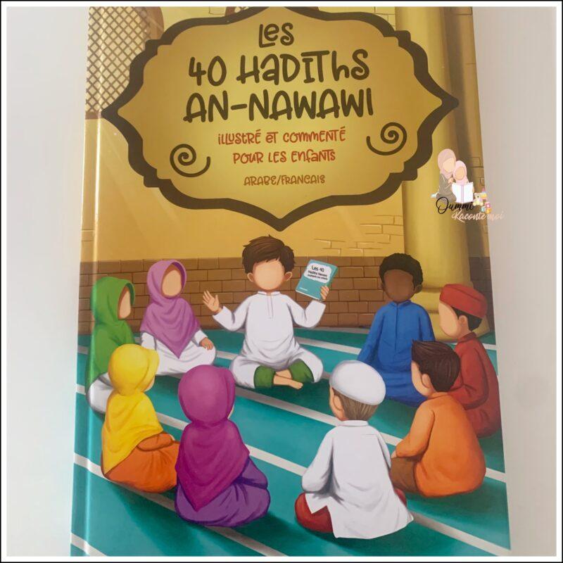 Les 40 Hadiths an-nawawi (Arabe/Français) – Édition MuslimKid