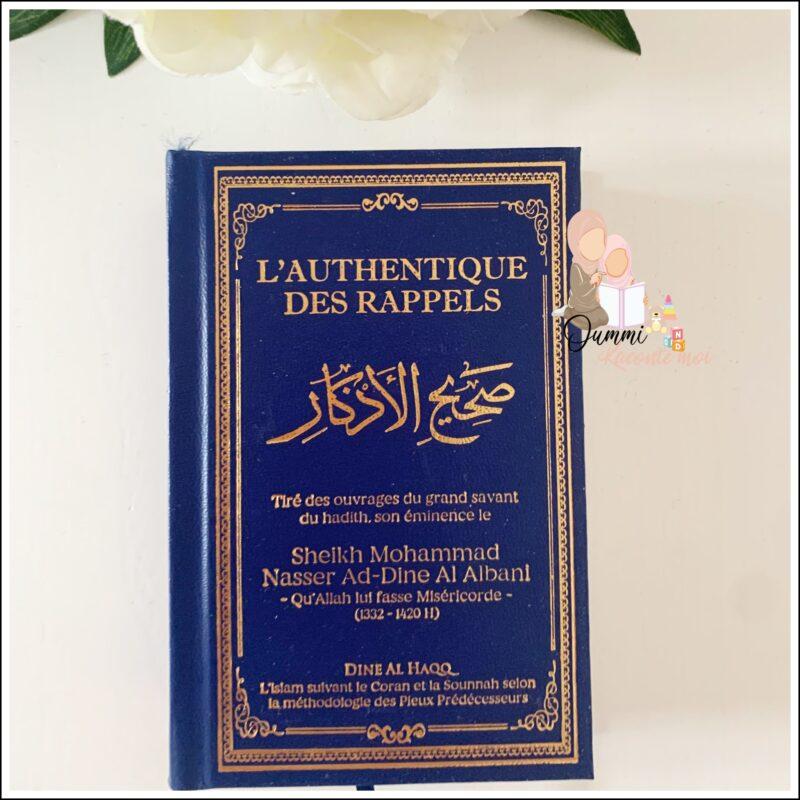 L'authentique des rappels (Couleurs au choix) – Édition Dine Al Haqq