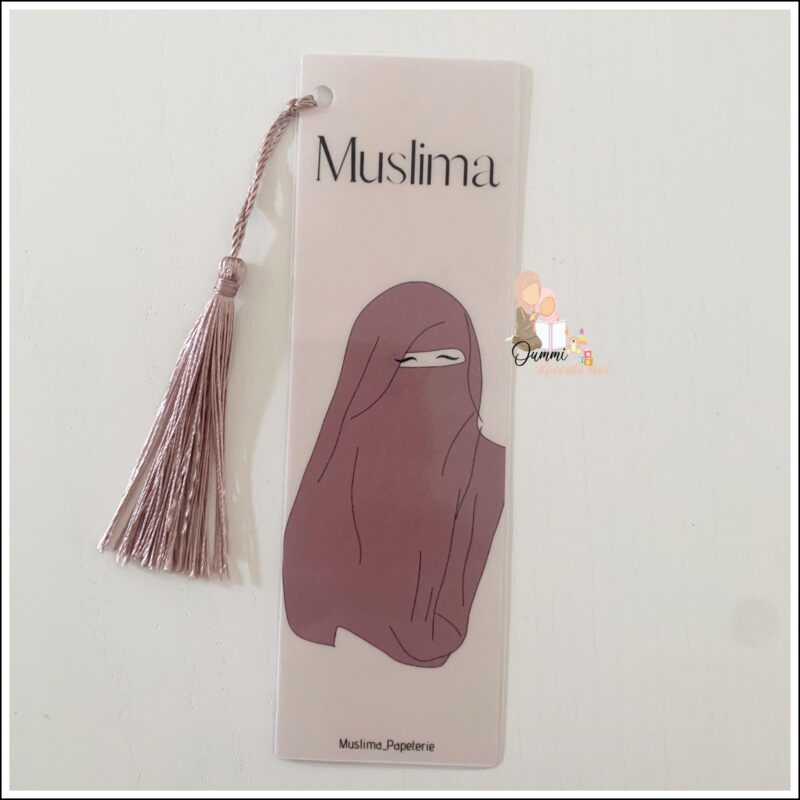 Marque Page «Muslima»