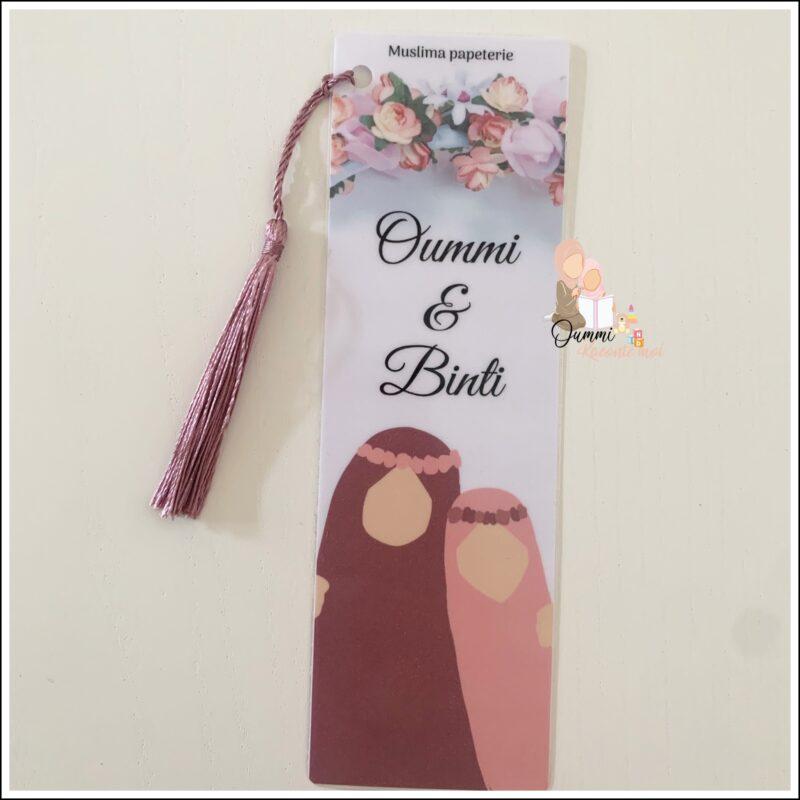 Marque Page «Oummi & Binti»