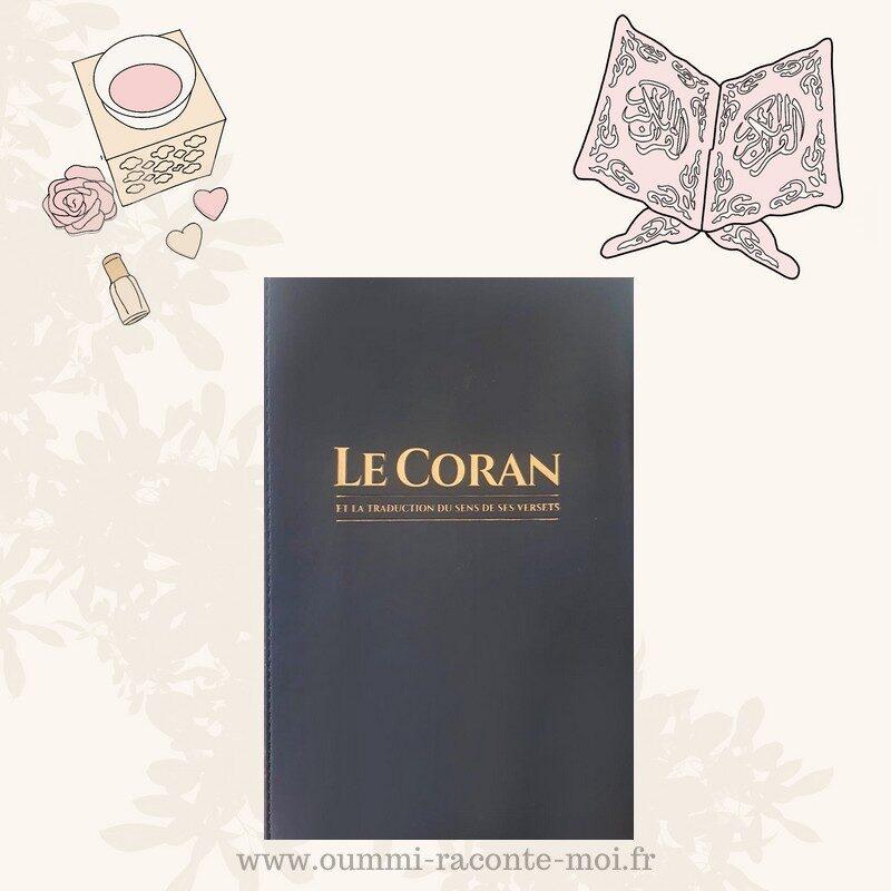 Le CORAN Et La Traduction Du Sens De Ses Versets (Arabe-Français) – Édition Tawbah