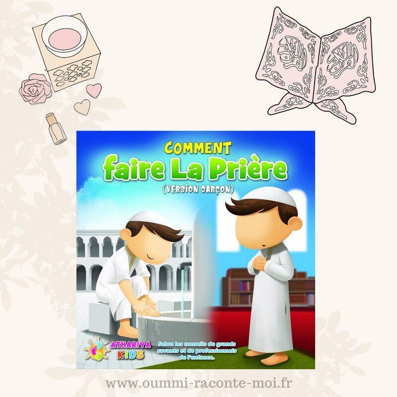 Mon Livre De Prière (Version Garçon) – Édition Dar Athariya